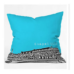 "DENY Designs - Bird Ave Chapel Hill Throw Pillow - Wanna transform a serious room into a fun, inviting space? Looking to complete a room full of solids with a unique print? Need to add a pop of color to your dull, lackluster space? Accomplish all of the above with one simple, yet powerful home accessory we like to call the DENY Throw Pillow! Features: -Bird Ave collection. -Top and back color: Print. -Material: Woven polyester. -Sealed closure. -Spot treatment with mild detergent. -Made in the USA. -Closure: Concealed zipper with bun insert. -Small dimensions: 16"" H x 16"" W x 4"" D, 3 lbs. -Medium dimensions: 18"" H x 18"" W x 5"" D, 3 lbs. -Large dimensions: 20"" H x 20"" W x 6"" D, 3 lbs."