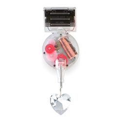 Kikkerland - Heart Rainbow Maker - Solar Powered RainbowMaker With Swarovski Heart!