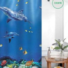 Mediterranean Shower Curtains by sinofaucet