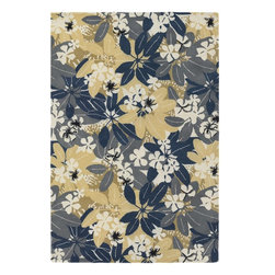 Chandra - Chandra Alfred Shanheen Transitional Hand Tufted Floral Rug X-675-4012FLA - Chandra Alfred Shanheen Transitional Hand Tufted Floral Rug X-675-4012FLA