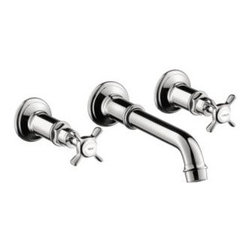 Axor - Hansgrohe - Axor Montreux Widespread Wall Mount Trim - 16532001 - Chrome Finish