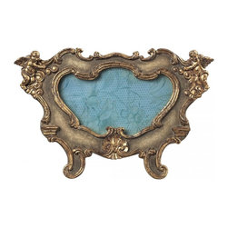 Sterling Industries - Florintine Scroll Picture Frames - Oval - Florintine Scroll Picture Frames - Oval