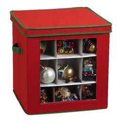 Christmas Ornament Storage Box -