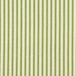 "30"" Tailored Tiers Ticking Stripe Curtains, Apple Green"