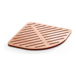 WS Bath Collections - Atlantica Shower Mat in Marine Plywood - Atlantica 7230 Shower Mats, Shower Mats Marine Plywood, Made in Italy
