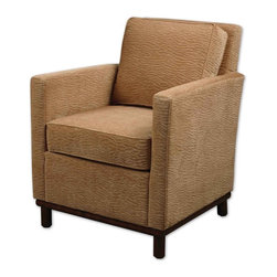 "23031 Topaz, Armchair by Uttermost - Get 10% discount on your first order. Coupon code: ""houzz"". Order today."