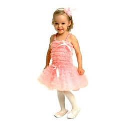 Aeromax Ballerina Dress - The Aeromax Ballerina Dress is so pretty and comfortable your little ballerina will beg you to let her wear it every day. Rows and rows of soft pink tulle make this ballerina dress the sweetest. Its satin straps decorative bows and matching headband complete the look. This sweet set is made for kids 2 to 8 years old and comes in your choice of size. Sizing Details: Size 2/3 fits age 2-3 yrs. Size 4/6 fits ages 4-6 yrs. Size 6/8 fits ages 6-8 yrs. About Aeromax Toys Inc.Based in Barrington Illinois Aeromax Toys specializes in imaginative dress-up outfits and accessories for kids. From their Get Real gear to Kids Safari outfits they inspire kids' imaginations. Some of the many awards Aeromax Toys has won over the years include awards from Nick Jr. iParenting Media Early Childhood News Awards and more. Aeromax Toys is a proud member and supporter of American Specialty Toy Retailing Association (ASTRA) and Toy Industry Association (TIA).