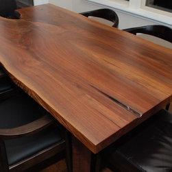 Escade Live Edge Dining Table -