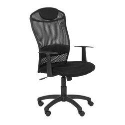 Safavieh Shane Desk Chair - Black - The office is awesome when you've got the Safavieh Shane Desk Chair - Black. Designed for the eight to five and even overtime, this desk chair features black mesh upholstery that cradles your body and makes for some very comfy productivity. 100% rubber wheels and an adjustable height are perks, too. Work never looked (or felt) so good.About SafaviehSafavieh is a leading manufacturer and importer of fine rugs. Established in 1914 in the capital of Persian weaving masters, the company today brings three generations of knowledge and experience to its award-winning collections. In the United States since 1978, Safavieh has been a pioneer in the creation of high-quality hand-made rugs, a trend that revolutionized the rug business in America. Its collections range from the finest antique and historical reproductions to the most fashion-forward contemporary and designer rugs.