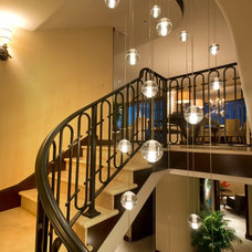 Transitional Chandeliers by Robeson Design