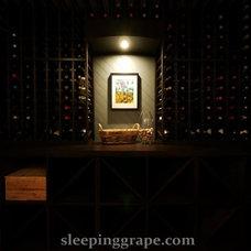 Contemporary  by Rollin Fox, Sleeping Grape Wine Cellars