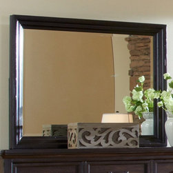 Emerald Home - Emerald Home Crystal Ridge Landscape Mirror - 46W x 36H in. Multicolor - B195-24 - Shop for Mirrors from Hayneedle.com! Traditional design makes the Emerald Home Crystal Ridge Landscape Mirror just what your space needs. This mirror features a frame of hardwood solids and white oak veneers in a rustic chestnut brown finish. Its beveled glass reflects the style of your home beautifully. About Emerald Home FurnishingsFounded in 1962 Emerald Home Furnishings supplies to home furniture retailers throughout the United States Canada Mexico Australia Japan Taiwan England and other countries. The company originally started as a distributor of bed frames and furniture and over the years has added a number of high-quality items to its product line. The company s mission is to strive for innovation integrity and excellent service.
