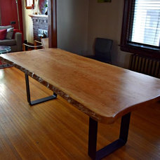 Rustic Dining Tables by Living Wood Design