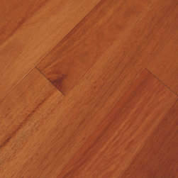 "Elegance Plyquest - Modern Collection Malaccan Cherry Wood Floor- Samples 8"" x 5"" - This listing is for 2 pieces of wood floor samples"