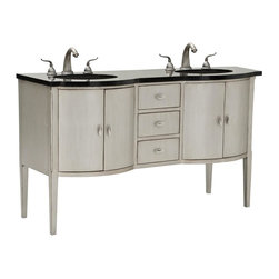 Ambella Home - New Ambella Home Double Sink Chest Bow Front - Product Details