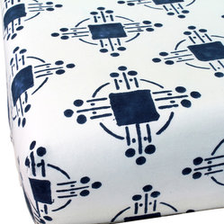 Thomas Nautical Blue Fitted Sheet