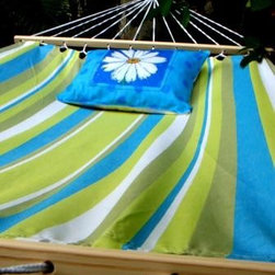Beach Boulevard Hammock - Spend your weekends this summer relaxing with a fun beach book while swaying and napping in a beautiful hammock.  Don't forget the cold lemonade.