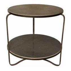 NOIR - NOIR Furniture - Evan Side Table - GTAB319ST - Features: