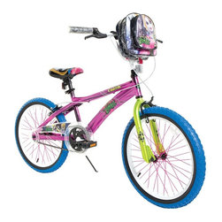 Zombie Princess - Zombie Princess 20 in. Girls Cinderella Bike Pedal Riding Toy Multicolor - 81091 - Shop for Tricycles and Riding Toys from Hayneedle.com! Look who's back from the dead! The Zombie Princess 20 in. Girls Cinderella Bike Pedal Riding Toy is a bad dream on wheels and comes with a sassy Cinderella bag that rides neatly on your handlebars. Make your mark with dazzling 20-inch blue tires and contrasting pink spokes. Special paint effects help this one stand out from the crowd. You won't lack for brakes with a coaster brake and front and rear hand brakes. A lifetime warranty covers the steel frame and fork.About DynacraftEveryone at Dynacraft is committed to helping families bike smart and bike together. Based in American Canyon California Dynacraft is well known as an importer of affordable high quality bicycles for every member of the family. Dynacraft constantly keeps its eyes on both the future and our customers' ever changing needs. If it's not the latest in innovation and designed to the most exacting standards using top-of-the-line parts it's not Dynacraft.