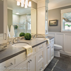Transitional Bathroom by Kelly Scanlon Interior Design