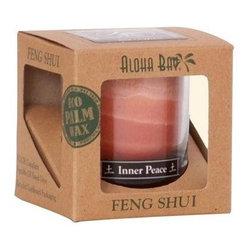 Aloha Bay Feng Shui Elements Palm Wax Candle - Earth/inner Peace - 2.5 Oz - Aloha Bay Feng Shui Elements Palm Wax Candle - Earth/inner Peace - 2.5 Oz