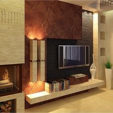 Modern Living Room malekddc