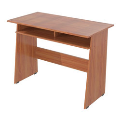 Inval America - Cedar Student Writing Desk - Create a functional writing, studying or work space with this modern writing desk.