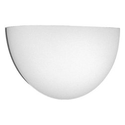 """Progress Lighting - Progress Lighting P7121-60 Acrylic Cloud Wall Sconce in White P7121-60 - In every home some areas always need additional light beyond standard room lighting. But there's no room for a lamp, and a ceiling fixture of any kind would be intrusive. Sconces mount straight on yprogress lighting wall. They never interfere with any furniture, nor with any room lighting. They illuminate without requiring space. Their warm glow will be as subtle or as dramatic as you choose. Progress Lighting has as wide an assortment of sconces as any decorator could desire - traditional candle - holder fixture dramatic half - rounds with trim to emphasize yprogress lighting color scheme uplights downlights. Here are sconces to solve yprogress lighting most challenging lighting problems.Acrylic wall pocket for use with recessed wall box Provides direct and indirect illumination Height from center of j - box to top of fixture 3"""", extends 3.75""""Bulb Type: Incandescent Collection: Wall Pocket Height: 8"""" Light Direction: Up Lighting Number Of Lights: 1 Sconce Type: Wall Washers Style: Functional Suggested Room Fit: Hallway Width: 16""""H CTR 3"""""""