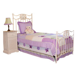 Lavender Butterfly Twin Bedding Set (3 Pc.)