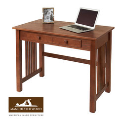 Mission Desk by Manchester Wood
