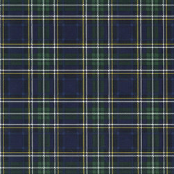 Ethan Tartan - Hunter - A gorgeous collection of mid-century and craftsman style wallpapers - The Ralph Lauren Family Places.