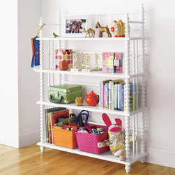 Jenny Lind Bookcase - I love the Jenny Lind beds and the bookshelf is no exception. It's a perfect piece for a nursery or young child's room.