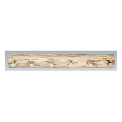 Montana Woodworks - Handcrafted Coat Rack (48 in. W x 8 in. D x 6 - Choose Size: 48 in. W x 8 in. D x 6 in. HIncludes hardware. Heirloom quality. Skip peeled by hand using old fashioned draw knives. Can be mounts easily to any wall. Made from solid U.S. grown wood. Made in USA. No assembly required. Warranty. Ready to Finish. Use and Care InstructionsProvides a sturdy and attractive solution to the everyday problem of coats lying around the house.