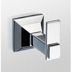 Toto - TOTO® Lloyd™ Robe Hook - The TOTO® Lloyd™ Robe Hook features a state-of-the-art plating process called LifeKoat™. The LifeKoat™ ionic plating procedure covers the entire fixture with a special finish that prevents corrosion, improves scratch resistance and increases hardness. Features & Specs Durable LifeKoat™ finishes (Nickel finishes only) Solid cast metal Mounting hardware for both drywall and tile included Lifetime Limited (Residential Use), One Year Commercial Use) View Spec Sheet