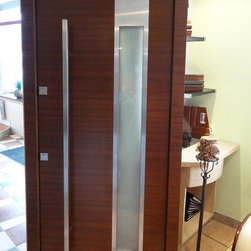 Modern Exterior Door Model 001 - Modern Home Luxury