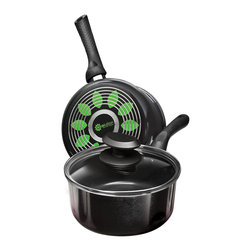 EPOCA - Artistry 2 Qt. Saucepan with Lid - Black - Ecolution Artistry 2qt. Saucepan with Lid