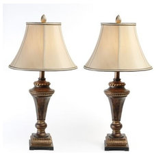 traditional table lamps by Kirkland's