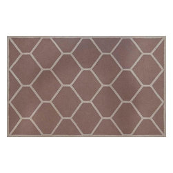 Safavieh - Simon Hand Tufted Rug, Beige / Ivory 8' X 8' - Construction Method: Hand Tufted. Country of Origin: India. Care Instructions: Vacuum Regularly To Prevent Dust And Crumbs From Settling Into The Roots Of The Fibers. Avoid Direct And Continuous Exposure To Sunlight. Use Rug Protectors Under The Legs Of Heavy Furniture To Avoid Flattening Piles. Do Not Pull Loose Ends; Clip Them With Scissors To Remove. Turn Carpet Occasionally To Equalize Wear. Remove Spills Immediately. Bring classic style to your bedroom, living room, or home office with a richly-dimensional Safavieh Cambridge Rug. Artfully hand-tufted, these plush wool area rugs are crafted with plush and loop textures to highlight timeless motifs updated for today's homes in fashion colors.
