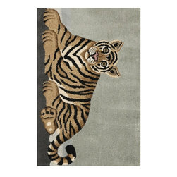 Safavieh Wilderness WLD203A Light Grey - Tan Area Rug - Safavieh Wilderness WLD203A Light Grey - Tan Area Rug