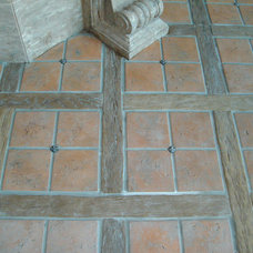 Traditional Floor Tiles by Realm of Design