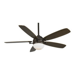 "Fanimation - Fanimation Akira 52"" 5 Blade Ceiling Fan - Blades, Light Kit, and Remote Control - Included Components:"