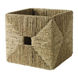 IKEA of Sweden - Knipsa Basket - I use these in my office. They're pretty and practical for hiding away those things that are prone to clutter.