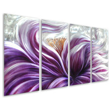 Eclectic Artwork by METAL WALL ART LLC