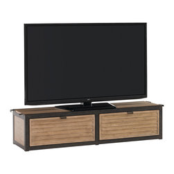 Lexington - Lexington Monterey Sands Camino Real Drawer Box Unit 830-990B - Just as the name implies, the two drawers are great between two media towers, or under a flat screen or wall mounted television. Add the shelves to create more storage and a higher site line for the television. Or a no media library.