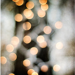 Abstract Photography, Christmas Lights by Carolyn Cochrane - What's cozier than twinkling lights in winter? Nothing. This bokeh art print is sure to brighten up any winter decor.