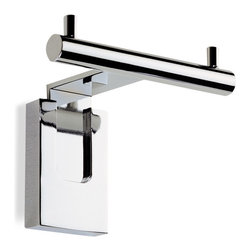 StilHaus - Chrome Double Robe Hook - Double robe hook in chrome finish. Double robe hook made of chromed brass. From StilHaus Quid Collection.