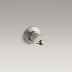KOHLER - KOHLER Antique robe hook - With classic design touches and a traditional feel, Antique accessories bring nostalgic charm to bath and powder rooms. Constructed of durable brass, this robe hook makes a practical and stylish accent for a variety of bathroom decors.