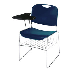 National Public Seating - National Public Seating Removable Book Rack Accessories for Stack Chairs - Tablet arm 1