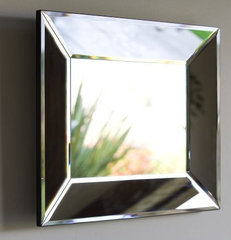 modern mirrors by Pottery Barn