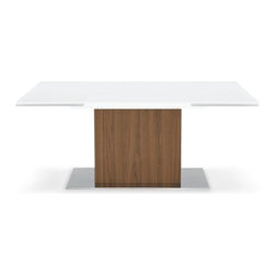 Calligaris - Calligaris | Quick Ship: Park Glass Extension Table - Design by S.T.C.